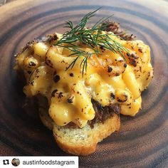 Lamb shoulder  Mac &  =  @austinfoodstagram w/ @repostapp  Today I had the privilege of judging Lamb Jam @FanOfLamb  We tasted 7 delicious dishes including this lamb shoulder with Mac n Cheese.  So gooood!  #ATX #FanOfLamb #AustinFoodstagram
