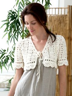 Crochet Bolero | Yarn | Free Knitting Patterns | Crochet Patterns | Yarnspirations