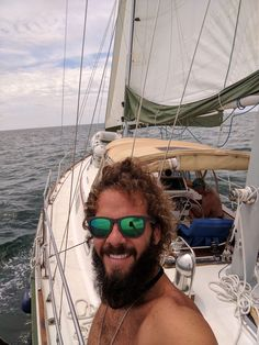 Enjoying the sail from Brunswick, GA to Fort Lauderdale, FL. Read about the adventures we had along the way. Boating Tips, Fort Lauderdale, Sailboat, Oakley Sunglasses, Sailing, Adventure, Life, Sailing Boat, Candle