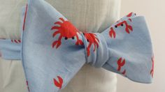 Why so Crabby Crab Themed Bow Tie by PhiTies on Etsy, $23.00