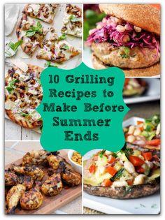 Healthy Summer Grilling Recipes - No Gojis No Glory