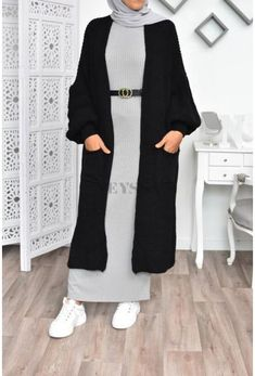 Modest Fashion Hijab, Modern Hijab Fashion, Hijab Chic, Muslim Fashion, Winter Mode Outfits, Winter Fashion Outfits, Hijab Outfit, Hijab Mode Inspiration, Hijab Stile