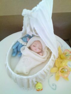 """baby cake """"Special occasion cakes"""" by Gandydancer - Own work. Licensed under CC BY-SA 3.0 via Commons - https://commons.wikimedia.org/wiki/File:Special_occasion_cakes.jpg#/media/File:Special_occasion_cakes.jpg"""