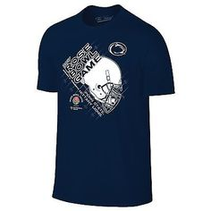 Penn State Nittany Lions 2017 Rose Bowl College Football Helmet Navy T-Shirt  Rose Bowl 2fde6aea6