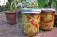 Canning Hot Banana Peppers