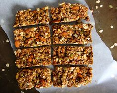 Gingerbread Granola Bars - GoodHousekeeping.com