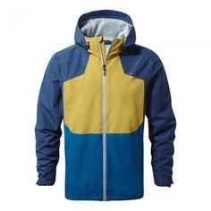 Apex Jacket Night Blue - A great lightweight waterproof jacket for adventure travel.