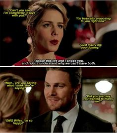 Arrow - Oliver & Felicity #4.9 #Olicity :)