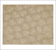 All-Over Coral Rug | Pottery Barn