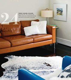 21 best cognac leather images living room home decor interior rh pinterest com