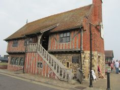 The Moat Hall, Aldeburgh, Suffolk, taken by Jackie Manger.