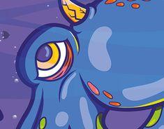 Behance, New Work, Sonic The Hedgehog, Disney Characters, Fictional Characters, Profile, Ocean, Dark, Gallery
