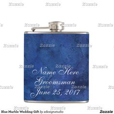 Blue Marble Wedding Gift