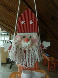 Joli barbu ! Christmas Crafts For Kids, Holiday Crafts, Christmas Ornaments, Holiday Decor, St Nicholas Day, Saints, Winter Time, Activities For 2 Year Olds, Xmas