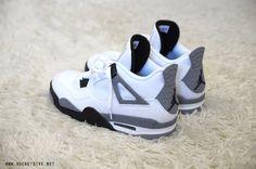 Air Jordan 4 White/Cement.