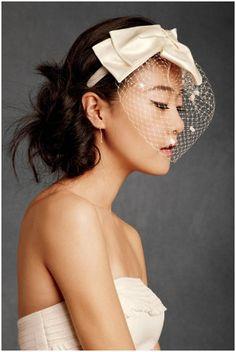 Languid Bow Headband from BHLDN.