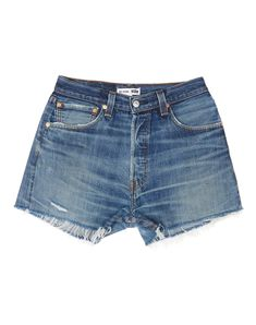High Rise Relaxed Short Made in USA Fabric Content - Cotton Front Rise - Inseam - Denim Shorts Style, Blue Jean Shorts, Blue Jeans, Denim Jeans, Vintage Shorts, Vintage Denim, Summer Outfits, Summer Clothes, Short Tops