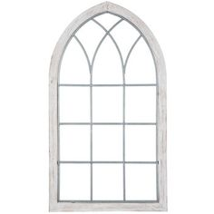 Get White Cathedral Window Wood Wall Decor online Canvas Wall Decor, Frame Wall Decor, Wood Wall Decor, Window Wall Decor, Mirror Wall Decor, Arched Wall Decor, Wall Decor Online, Wood Windows, Cathedral Windows