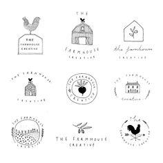 Graphic Design Branding, Corporate Design, Identity Design, Farm Logo, Bakery Logo, Web Design, Grafik Design, Art Plastique, Graphic Design Inspiration