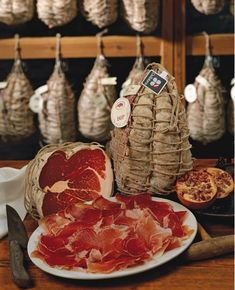 Prosciutto is a must do in Italy! Great!