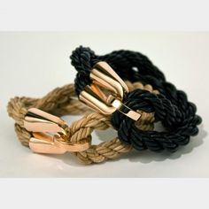 Tethered Leather Bracelet