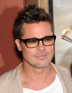A Long And Deeply Disturbing History Of Brad Pitt's Transparent Sunglasses