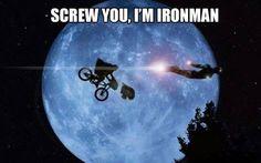 I'm ironman!