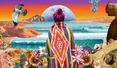 Aaron Glasson est un artiste de Nouvelle Zélande, réaliser avec des bombes aérosols ou bien de la peinture. Ses oeuvres sont extraordinairement visuelles, riches de couleurs et semblent tout droit sorties d'un rêve psychédélique : Aaron explore la coexistence de l'inconnu et de la réalité observée.