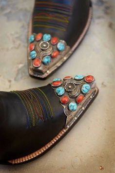 """old-hopes-and-boots: """"from Rocketbuster Handmade Custom Boots """" Cowgirl Style, Cowgirl Boots, Western Boots, Cowboy Hats, Western Wear, Coral Turquoise, Turquoise Jewelry, Red Coral, Mode Country"""