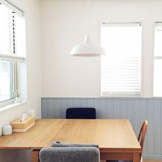 asuさんの、リビング,無印良品,IKEA,ダイニング,ダイニングテーブル,モモナチュラル,窓辺,unico,IDEE,ウッドブラインド,2階リビング,のお部屋写真