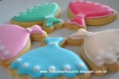 Biscoitos decorados /Cookies by 7e8comerbiscoito.blogspot.com