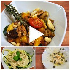 In dieser Folge der Kochshow zur Vegan Taste Week geht es komplett um Gemüse: Es gibt eine Gemüsepfanne, Kohlrabi-Carpaccio und Zucchininudeln.