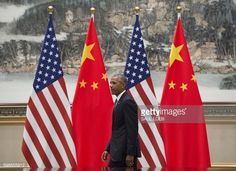 US President Barack Obama attends a meeting with Chinese President Xi Jinping at the West Lake State House in Hangzhou on September 3 2016 The United...