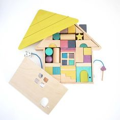 Tsumiki by Kaz Shiomi for Kukkia #productdesign #toydesign