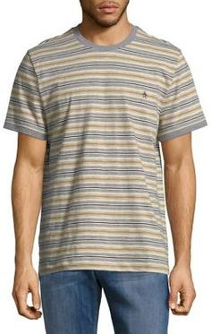 Original Penguin Striped-Print Cotton Tee