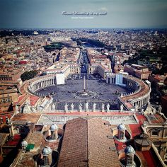 Been I blessed myself here or did that cross thing even tho im not Catholic, might as well lol Rome - The Vatican