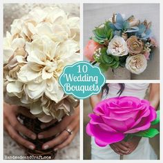 10 Different DO IT YOURSELF Bouquets!