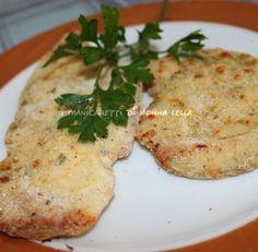 Secondo piatto: petti di pollo al parmigiano