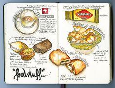 » Search Results » food 'skine.art - Moleskine Art