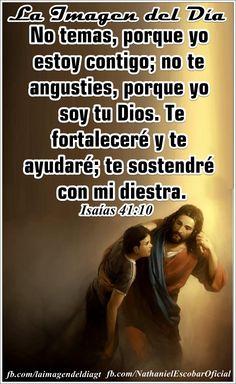 """10 de octubre de 2014 - """"Dios está conmigo, no le temo a nada, porque él me ayuda y me fortalece"""" #UnaVsinBniV"""