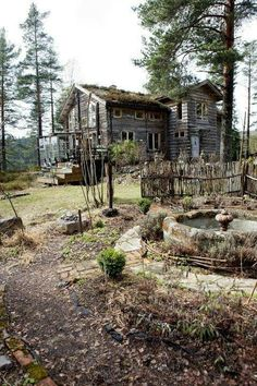 The humble cott that was Kira's home before her mother died and the cott was burnt down to ashes.