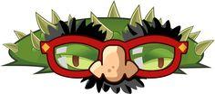 Plants vs Zombies 2 Spikeweed(Halloween) (R) by illustation16 on DeviantArt