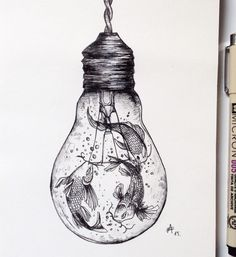 Awesome Sketches Pen Drawings Ideas 05 Awesome Sketches Pen Drawings by Alfred…