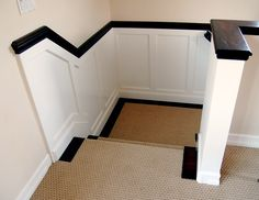 Skirt boards Trim Stairs :: 2182789686_7ac324126a_o.jpg picture by osprey999 - Photobucket