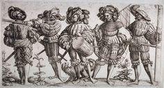BELLUMARTIS HISTORIA MILITAR: LOS LANSQUENETES