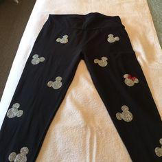 LuLaRoe Pants - Mickey Lularoe leggings