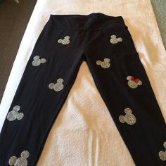 LuLaRoe Pants - Mickey Lularoe leggings