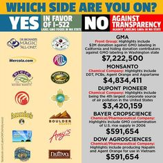 Which side are you on? GMA dumps another $5M against Yes On 522. More Here: https://www.facebook.com/GmoInside