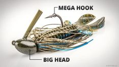The basic jig is one of the most versatile baits that a bass angler can have in their arsenal. It can be fished just about any way, in any depth, and around most types of cover and structure. Best Bass Fishing Lures, Bass Fishing Tips, Fishing Knots, Trout Fishing, Saltwater Fishing, Kayak Fishing, Ice Fishing, Fishing Tricks, Fishing Tackle