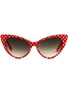Dottie Sunglasses in Cherry $10.00 AT vintagedancer.com